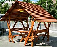 Деревянная беседка «Армада» 250х200 от производителя для сада и дома