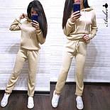 Женский вязаный костюм с капюшоном (в расцветках), фото 9
