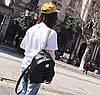 Элегантный набор с брелком мишкой 3в1, рюкзак сумка визитница, фото 4