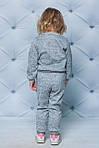 Детский спортивный костюм для девочки  с LoL Светлый- меланж, фото 3