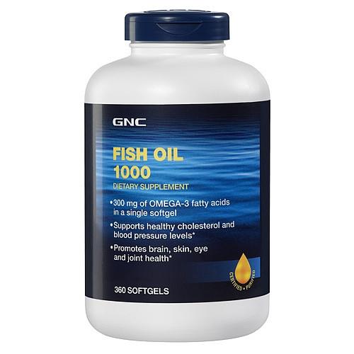 GNC Fish Oil 1000 360 caps