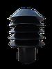 Дефлектор D-150 мм черный