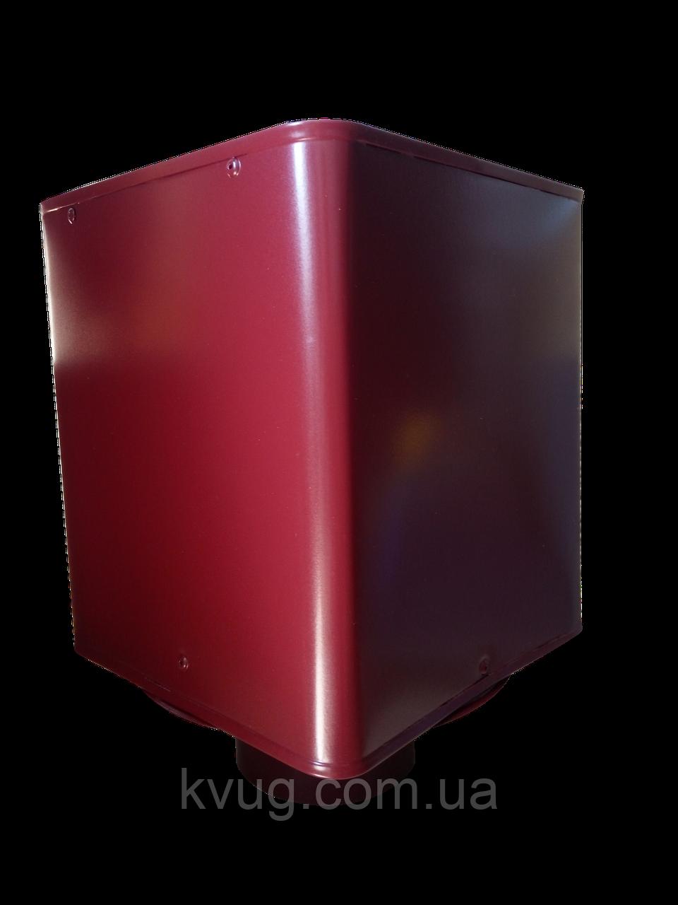 Дефлектор №12 D-150 мм красный