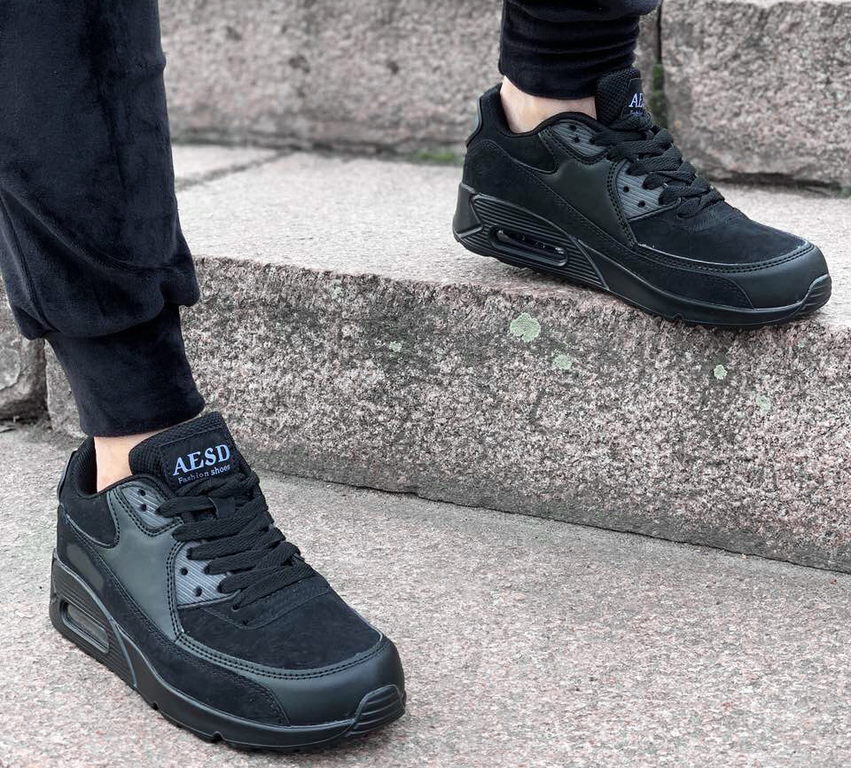 Кроссовки женские AESD Air Max D2174 черные