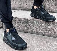 Кроссовки женские AESD Air Max D2174 черные, фото 1