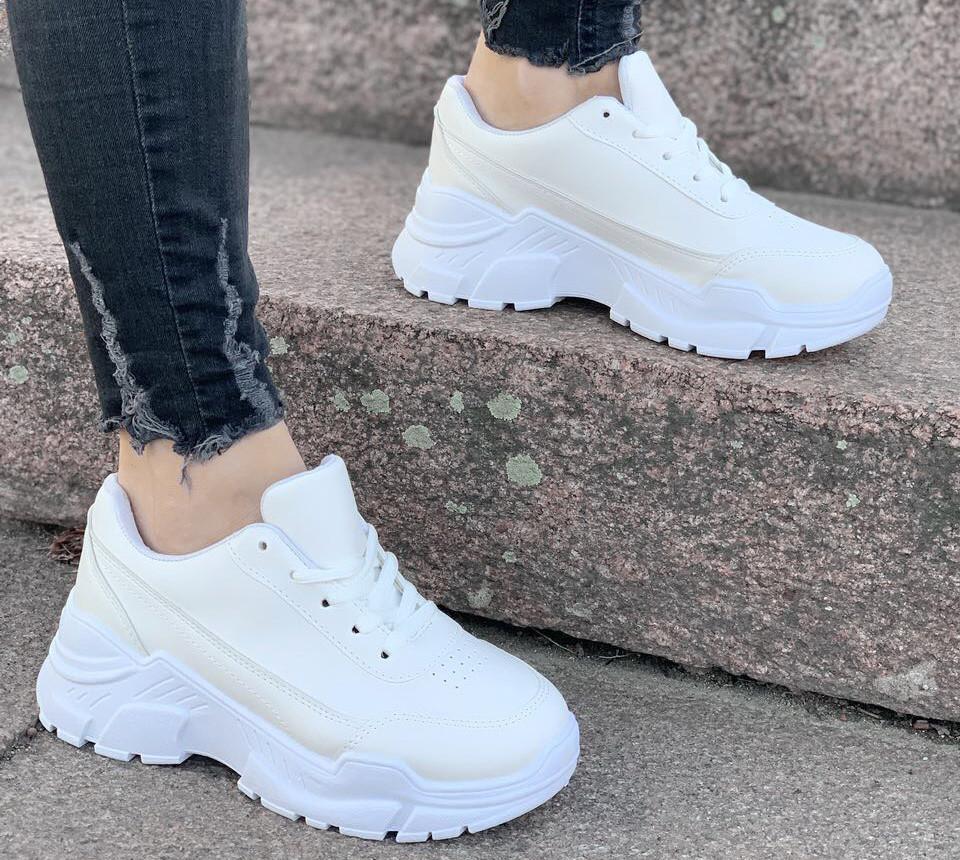 Кроссовки женские Fabrick D2192 белые