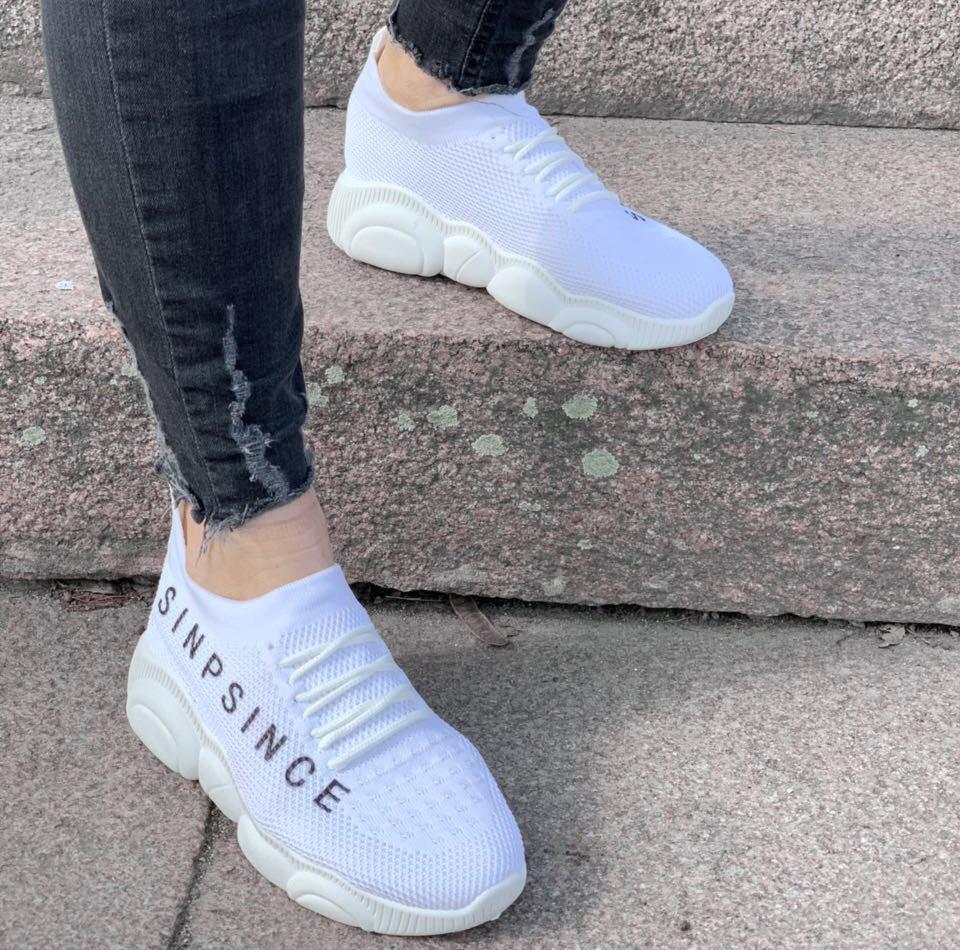 Кроссовки женские Since D2186 белые