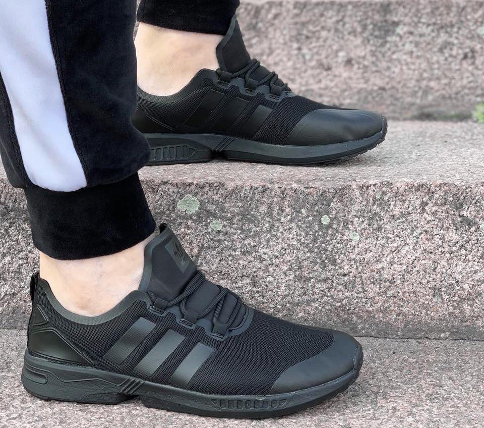 Кроссовки мужские Adidas Slam D1807 черные