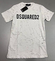 2f7e24d42f422 Белая футболка Dsquared в Украине. Сравнить цены, купить ...