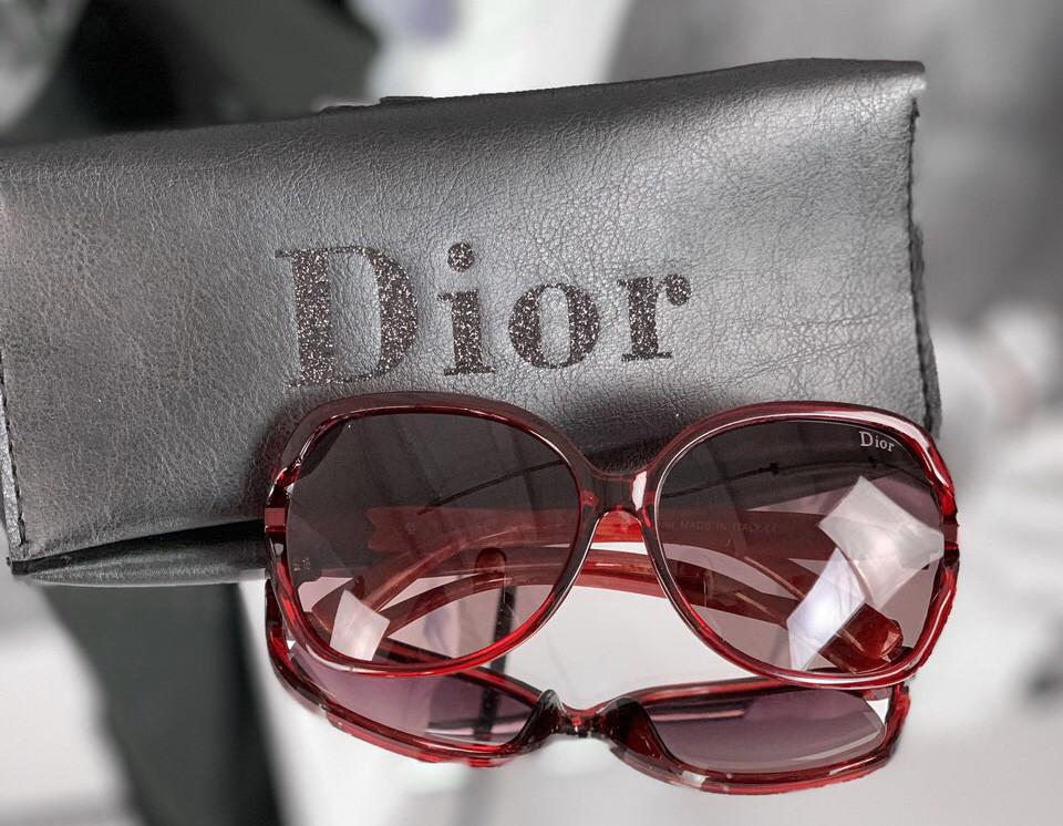 Очки Dior red D1993
