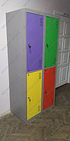 Шкаф металлический для одежды ШМ-2-4-400х900