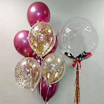Воздушные латексные шарики продаются по штучно