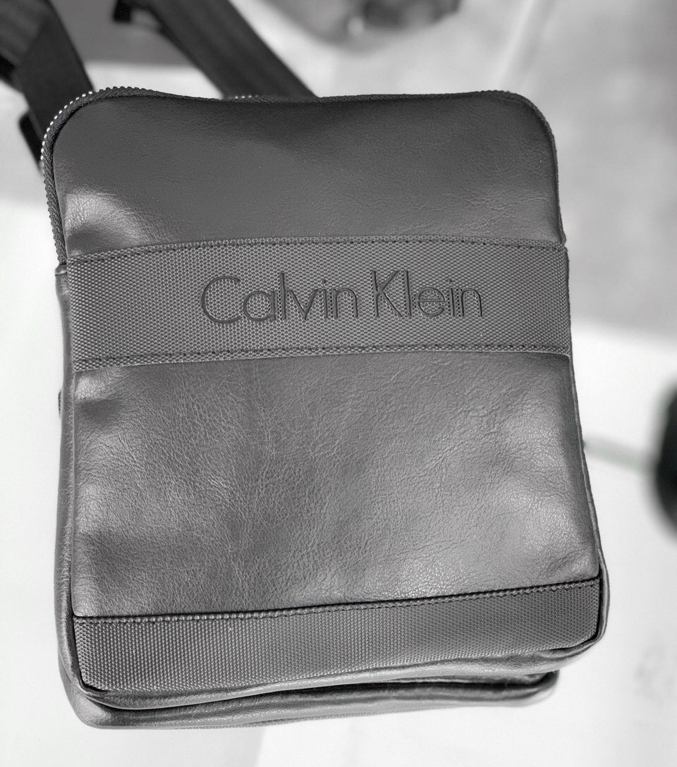 Сумка мужская Calvin Klein D1691 черная