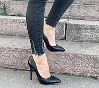 Туфли женские D2190 черные, фото 1