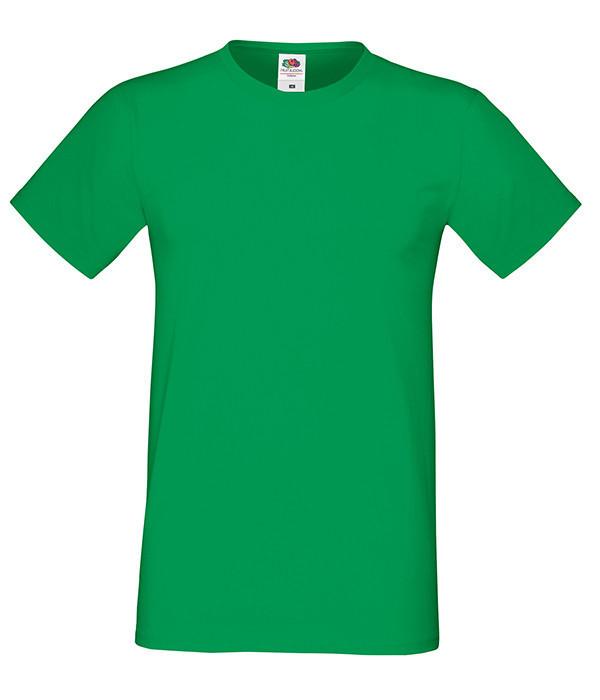"""Мужская футболка """"Хлопок"""" L, 47 Ярко-Зеленый"""