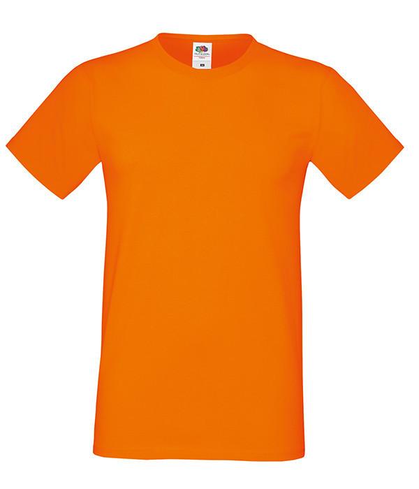 """Мужская футболка """"Хлопок"""" XL, 44 Оранжевый"""