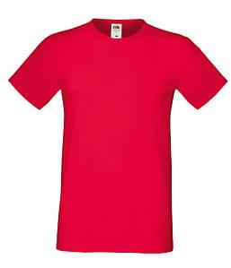 """Мужская футболка """"Хлопок"""" 2XL, 40 Красный"""
