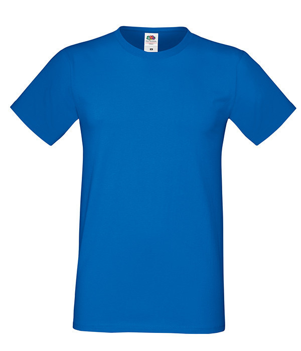 "Мужская футболка ""Хлопок"" 2XL, 51 Ярко-Синий"