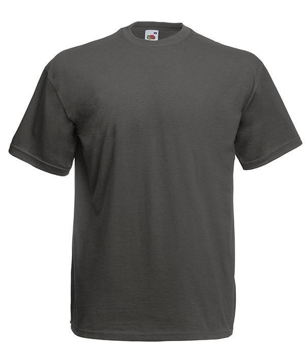 """Мужская футболка """"Хлопок"""" S, GL Светлый Графит"""