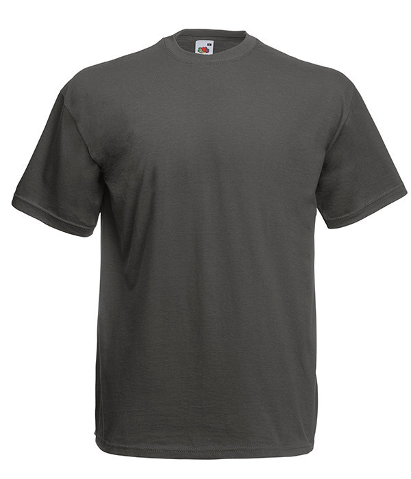 """Мужская футболка """"Хлопок"""" XL, GL Светлый Графит"""