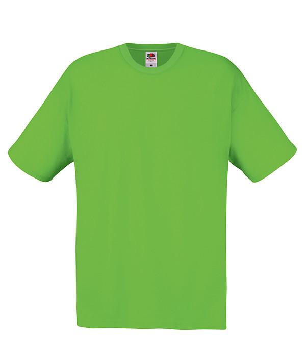 """Мужская футболка """"Хлопок"""" L, LM Лайм"""