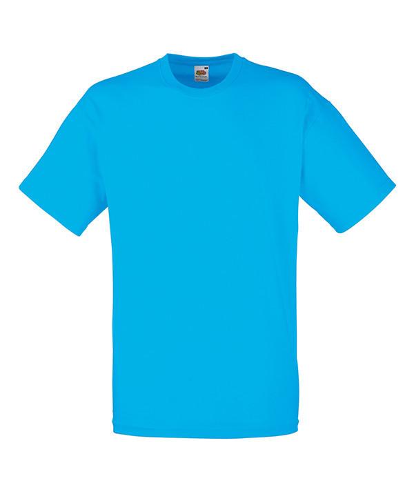 """Мужская футболка """"Хлопок"""" M, ZU Ультрамарин"""