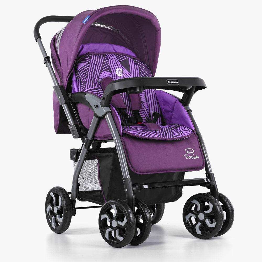 Коляска детская ME 1007-9 EL CAMINO TORNADO Фиолетовый