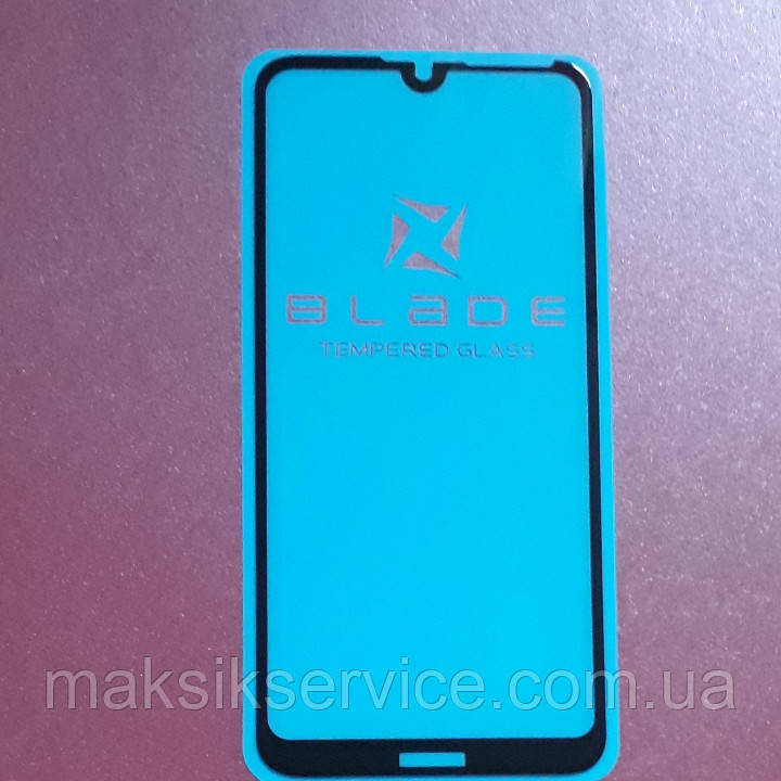 Защитное стекло Blade Full Glue Huawei Y7 2019 black