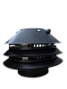 Дымосос D - 220/150 мм черный (легкий)