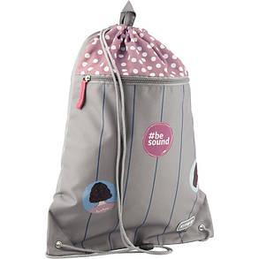Сумка для обуви с карманом Kite Education 601L-7 Be sound K19-601L-7 ранец  рюкзак школьный hfytw ranec, фото 2