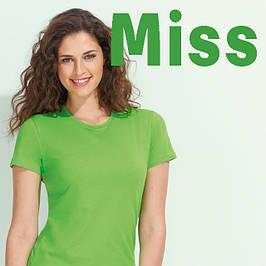 Женские, модель MISS, 25 цветов, плотность 150 г/м2, размеры от S до XXL