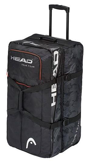 9b2f82e0a1d2 Сумка дорожная на колесах HEAD Tour Team Travelbag 726424519705 на 120 л.  черная