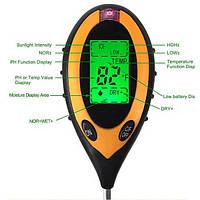 Влагометр PH-метр термометр  люксметр для почвы