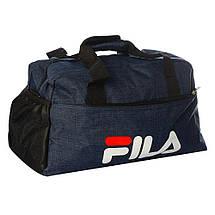 Спортивная сумка Fila средняя (Черная) , фото 3