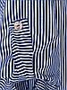 Батальная полосатая блузка на каждый день  54-60, фото 2