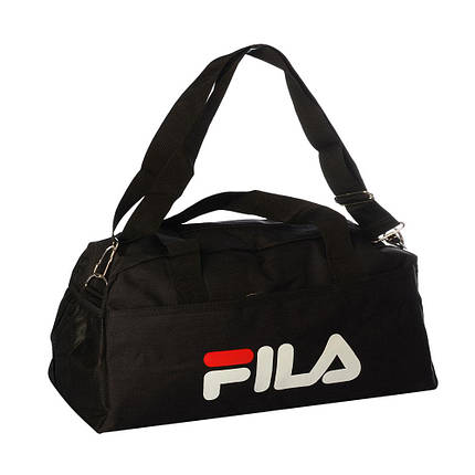 Спортивная сумка Fila средняя (Черная) , фото 2