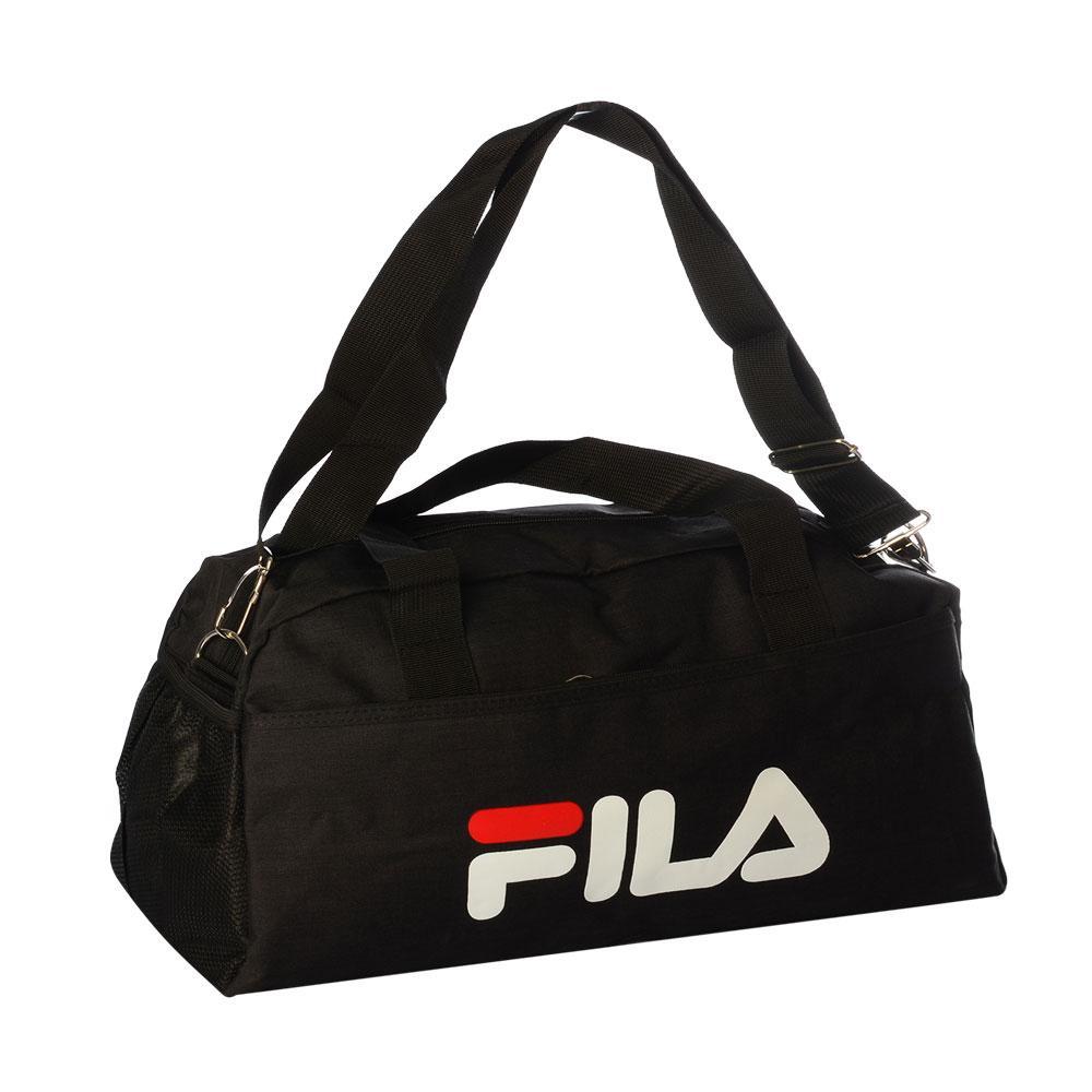 2caa47b852d1 Спортивная сумка Fila средняя (Черная) - Интернет Магазин