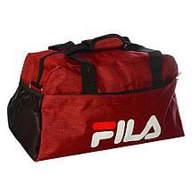 Спортивная сумка Fila средняя (Синяя), фото 3