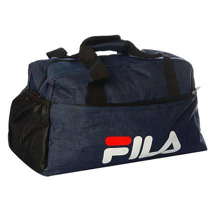 Спортивная сумка Fila средняя (Синяя), фото 2