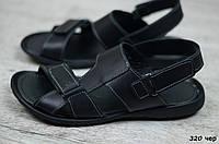 Мужские кожаные сандалии Cardio (Реплика) Размеры ► [40,41], фото 1