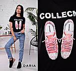 """Женская стильная футболка """"Кеді"""" (в расцветках), фото 8"""