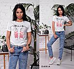 """Женская стильная футболка """"Кеді"""" (в расцветках), фото 6"""