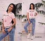 """Женская стильная футболка """"Кеді"""" (в расцветках), фото 7"""