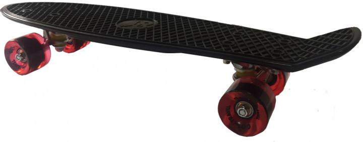 Скейт GO Travel 56 см Черный с красными колесами (LS-P2206BRT)
