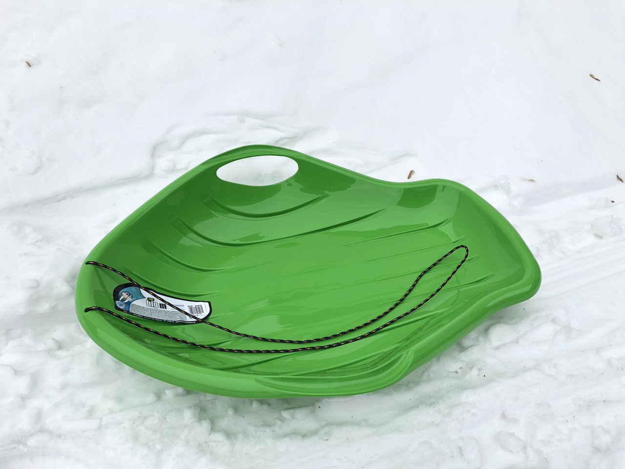 Зимние санки-ледянка BIG M, зеленые