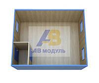 Здания модульные, модульный офис проект ЕВРО-2
