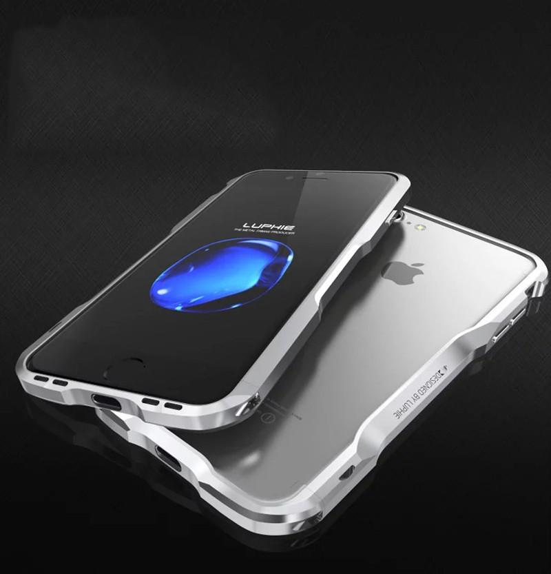 Металлический бампер для iPhone 7 8 Luphie