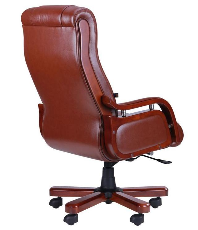 Кресло Ричмонд, кожа коричневая (642-B+PVC) фото 4