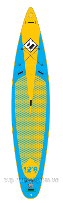 SUP доска Focus 12'6'' x 30'' x 6'' Inflatable Paddle Board, DST