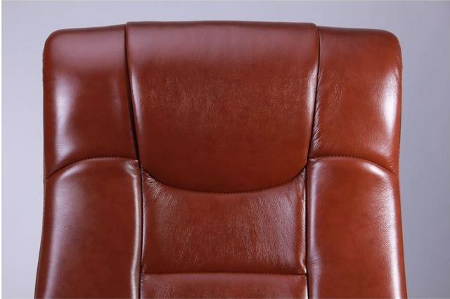 Кресло Ричмонд, кожа коричневая (642-B+PVC) фото 7